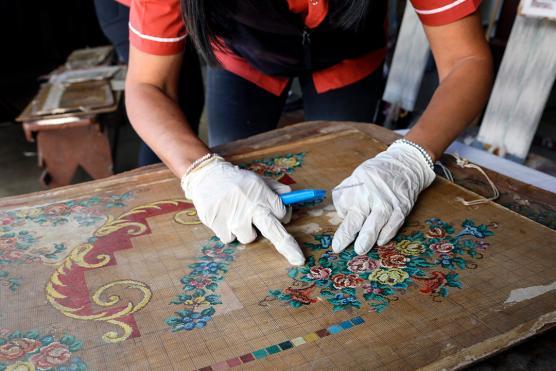 IDA colabora con la Fábrica de Alfombras de Catamarca
